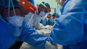 197 beteg meghalt, még mindig több mint ezren vannak lélegeztetőgépen