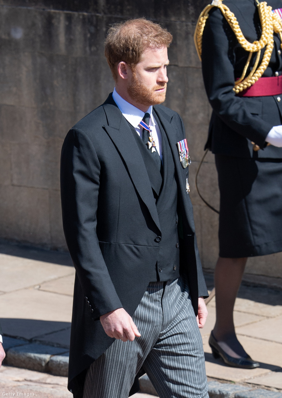 Harry herceg Fülöp herceg temetésén