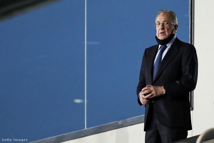 Florentino Pérez lesz az első ESL-elnök