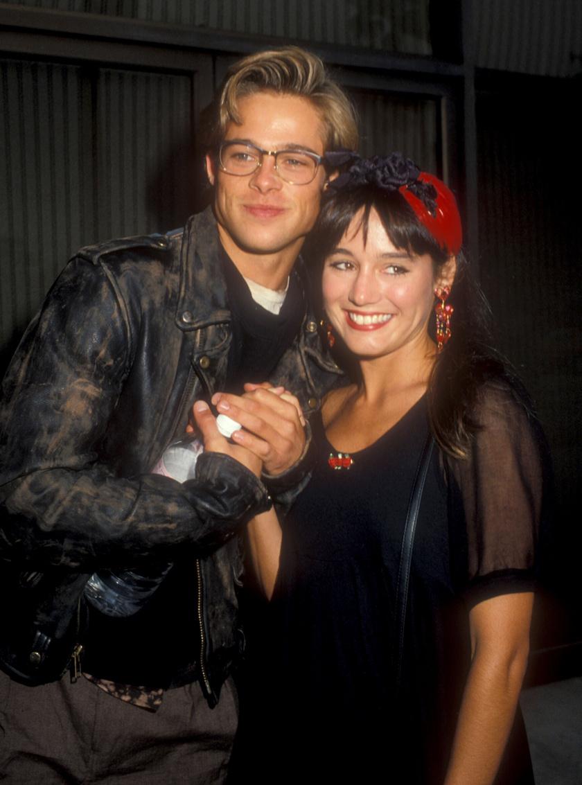 Brad Pitt és Jill Schoelen jegyben jártak.