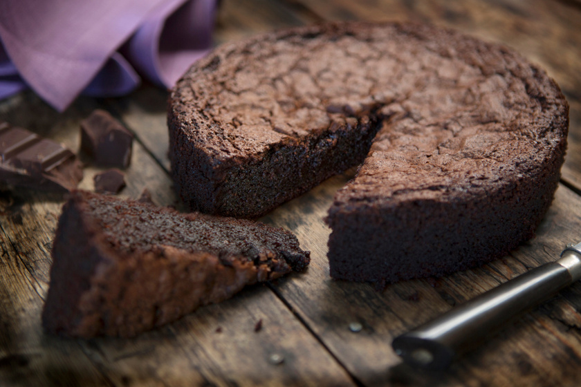 lisztmentes csokoládétorta recept