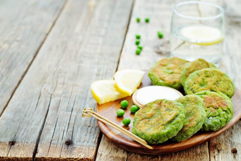 zöldborsós puggancs recept