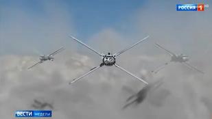 Drónháborúra készülnek Ukrajna felett