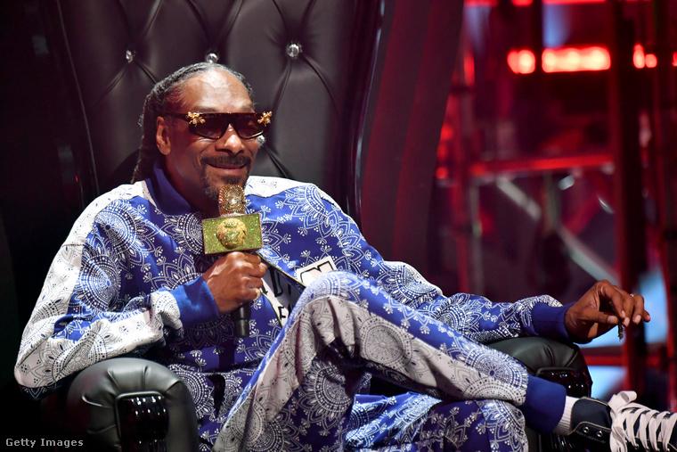 Szintén jelen volt Snoop Dogg.