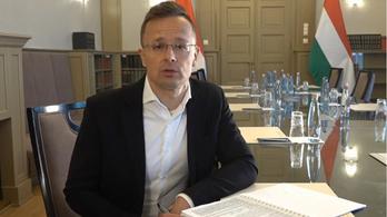 Szijjártó: Magyarország támogatja Ukrajnát, de vannak elvárásai