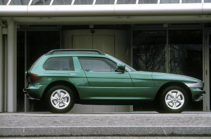 BMW Z1 koncepció: shooting brake a megvastagított küszöbbe sülyedő ajtókkal