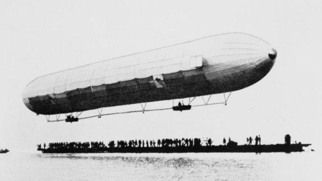 Az első Zeppelin-léghajó