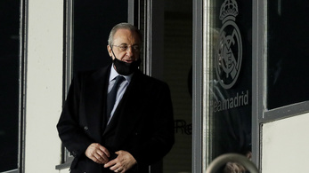 Florentino Pérez a Szuperligát akarta védeni, azonnal lebukott, hogy hazudik