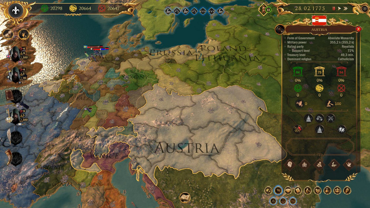 Egyértelmű az Europa Universalis rokonság