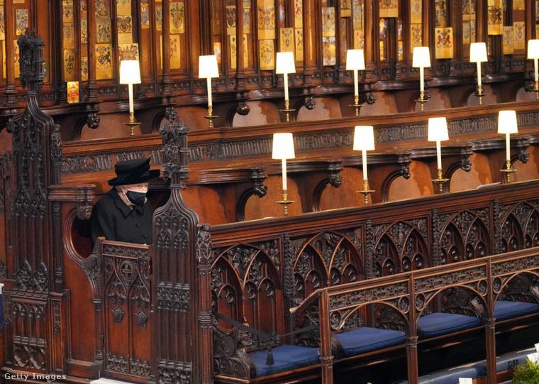 II. Erzsébet a szertartáson