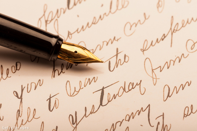 Egy Parker Fountain toll