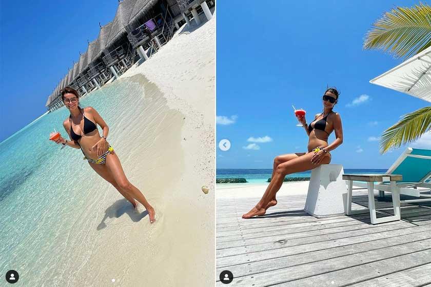 Berki Mazsi a babapocakos, bikinis fotók mellé arról is írt, hogy mindenben szakemberek véleményét kérte ki, legyen szó étkezésről, utazásról vagy sportról.