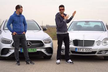 E 300: most vagy 10 éve volt a legjobb Mercedes?