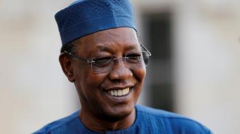 Meggyilkolták Csád elnökét, akit valószínűleg idén is újraválasztottak volna