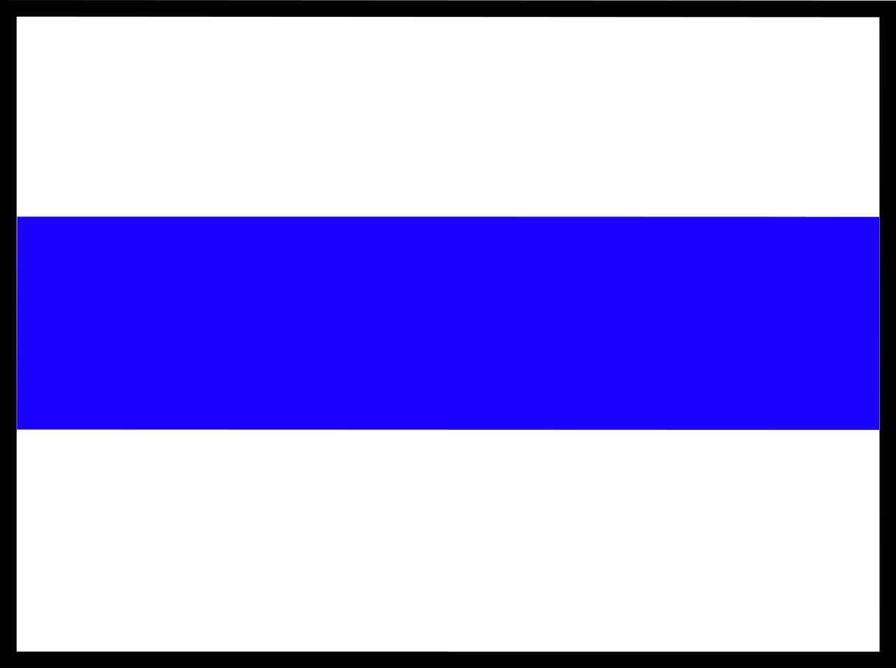 Milyen útvonalat jelöl általában a kék sávjelzés?