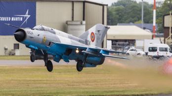 Lezuhant a román légierő vadászgépe