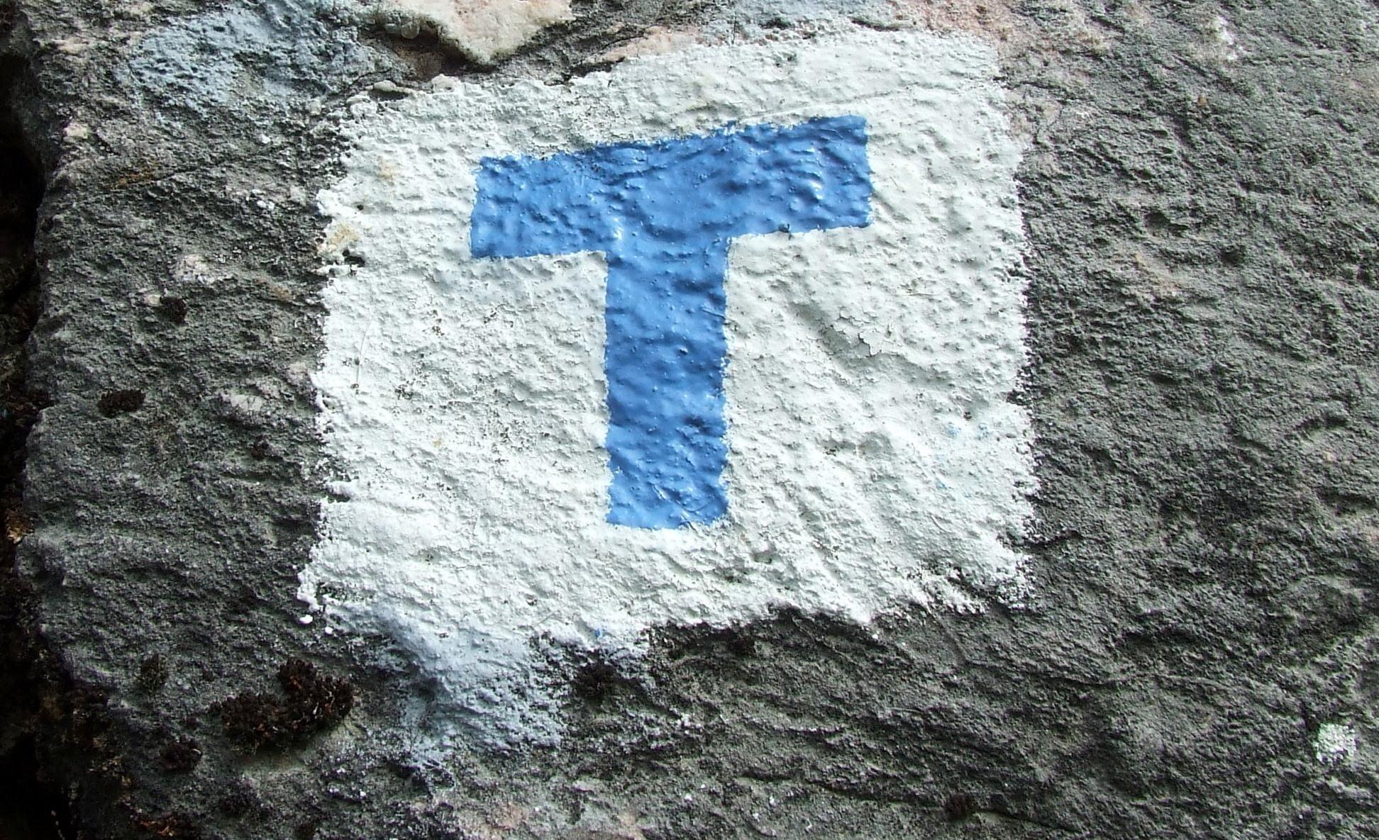 Milyen útvonalat jelölnek általában T betűvel?