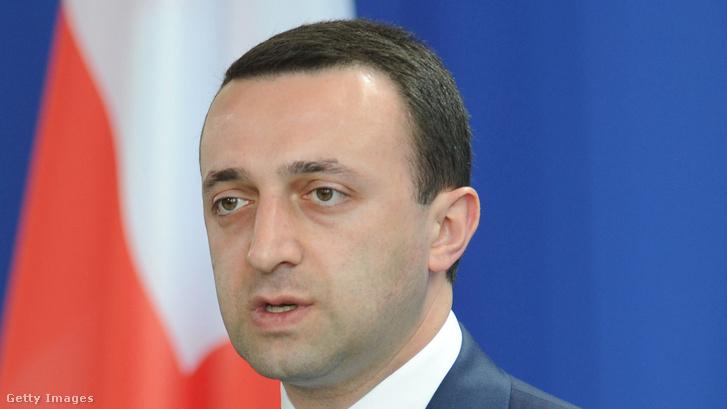 Ikrai Garibasvili Georgia minisztelelnöke