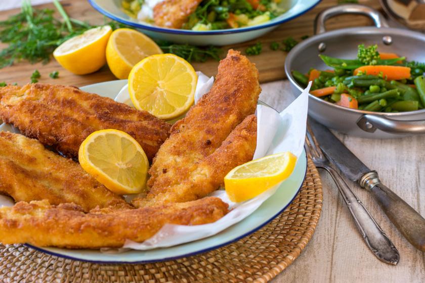 rántott hal filé recept