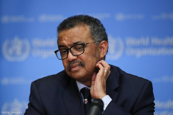 Tedrosz Adharom Gebrejeszusz, a WHO főigazgatója