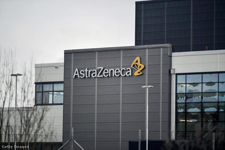 Az Astra Zeneca gyára a svédországi Sodertaljében Getty Images Hungary