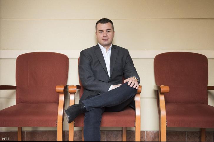 Kirják Róbert a Móricz Zsigmond Színház ügyvezető igazgatója Nyíregyházán 2018. február 1-jén.