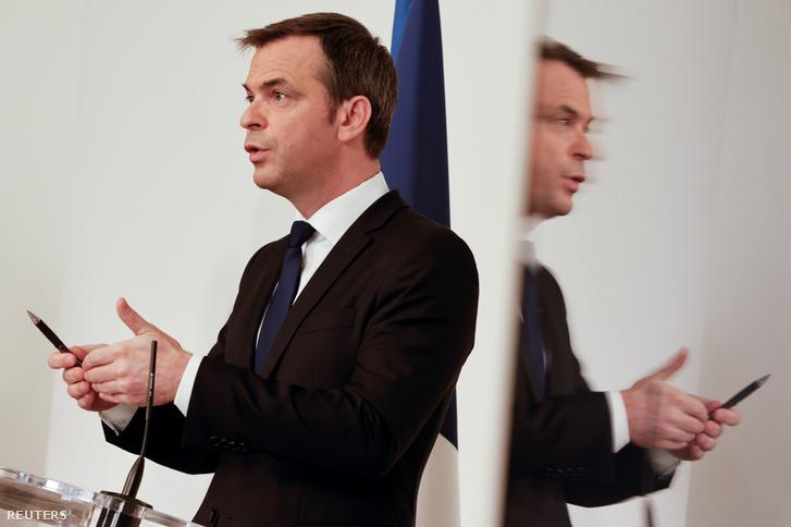 Olivier Veran francia egészségügyi miniszter