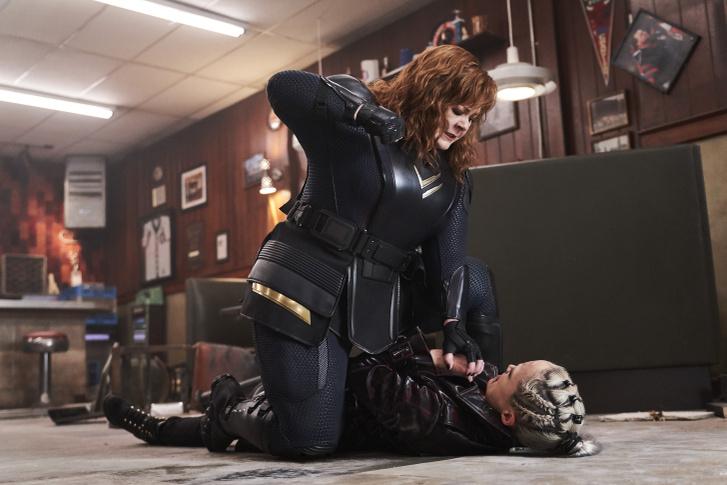 Melissa McCarthy és Octavia Spencer a Lecsap csapat című film jelenetében
