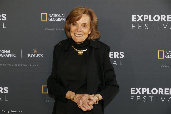 Sylvia Earle részt vesz a National Geographic Awardson 2019. június 12-én Washingtonban