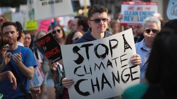 A fiatalok szerint a globális felmelegedés az emberiség legsúlyosabb problémája