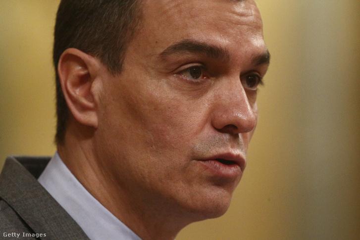 Pedro Sanchez spanyol miniszterelnök