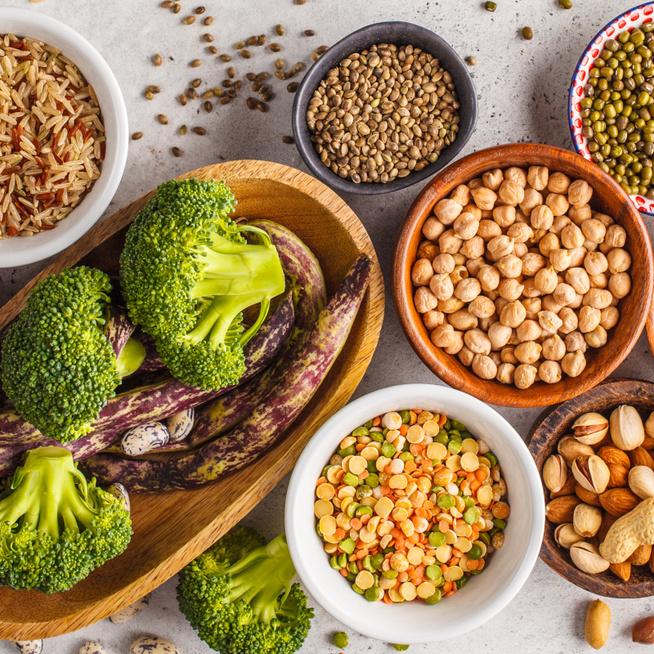 Ne csak húsból fedezd a fehérjeszükségleted – A növényi fehérjéket is érdemes beiktatni az étrendbe