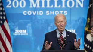 Már a kétszázmilliomodik dózis beadott vakcinánál tart a Biden-adminisztráció