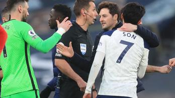 Hátrányból nyert a Tottenham Mourinho menesztése után