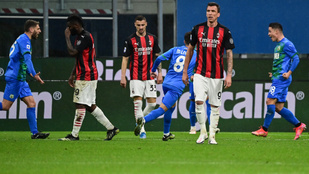 Hazai pályán kapott nagy pofont a Milan