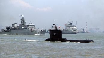 700 méter mélyre süllyedhetett az indonéz hadsereg eltűnt tengeralattjárója