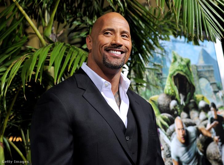 Dwayne Johnson 2012. február 2-án Los Angelesben
