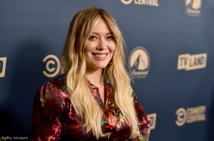 Hilary Duff 2019. május 30-án Hollywoodban