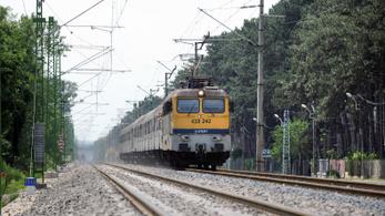 Pályahiba miatt késnek a vonatok a Balatonnál