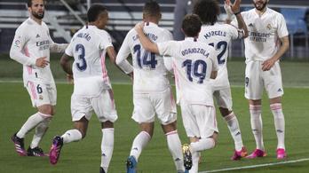 Simán nyert és élre állt a Real Madrid