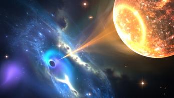 A legkisebb fekete lyuk van legközelebb hozzánk