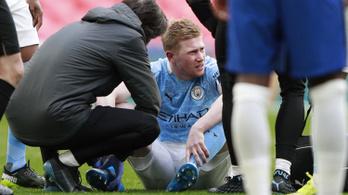 Kiderült, játszhat-e De Bruyne a PSG ellen