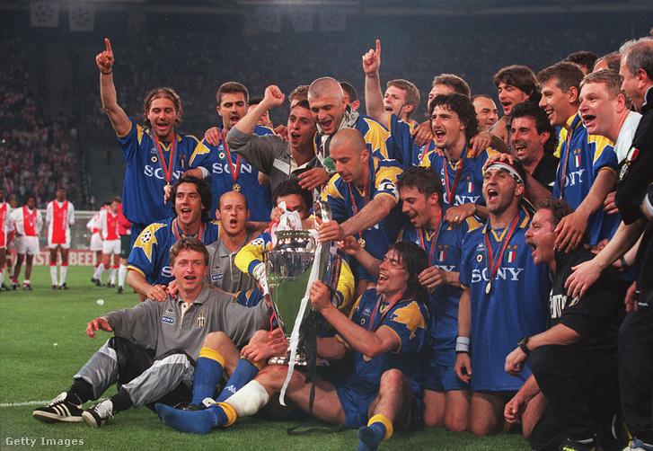 1996-ban BL-t nyert a Juventusszal