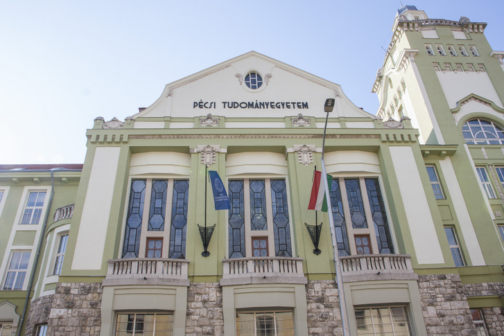 A PTE KTK Rákóczi úti épülete