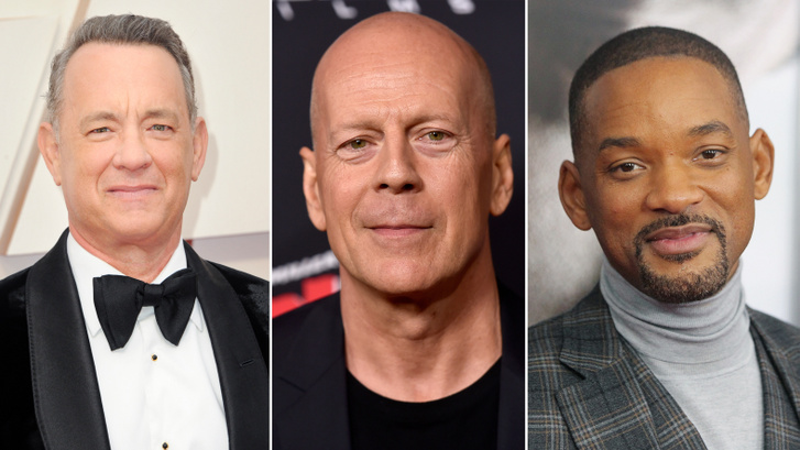 Tom Hanks, Bruce Willis és Will Smith