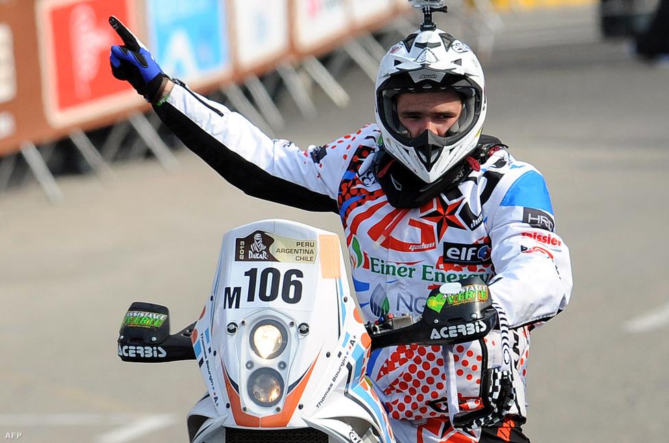 Az idei verseny sem telt el halálos áldozat nélkül. A 25 éves francia motoros, Thomas Bourgin szenvedett végzetes balesetet útban a 7. szakasz felé Chilében.