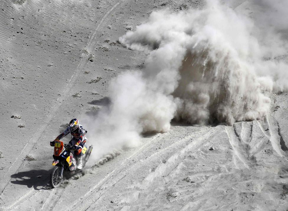 A motorosoknál is francia győzelem született, Cyril Déspres ötödször nyert a Red Bull KTM nyergében.