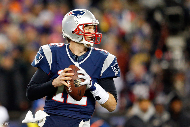 Tom Brady, a Patriots sztárja