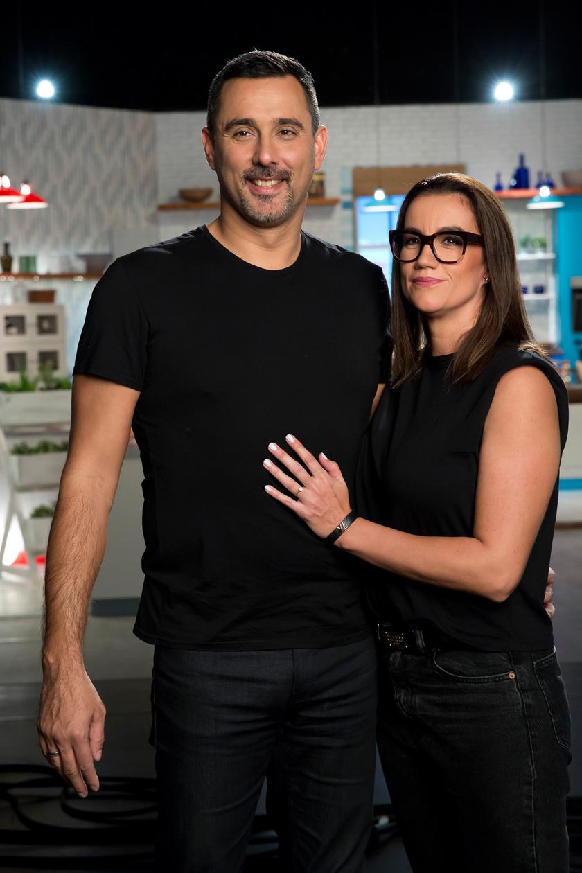 Szécsi Zoltán és Vanda a Spektrum Home Piríts Rám! című párkapcsolati gasztrovetélkedőjében remek párost alkotott.