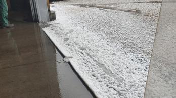 Elverte a jég az országot, lecsapott a tornádó